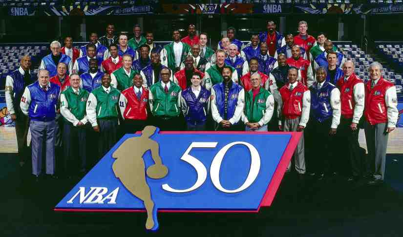 NBA's 50 Greatest Players