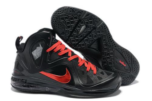 Neue Neueste Schwarz Rot Männer Nike Lebron 9 Ps Elite Basketball-Schuhe Hamburg 1697