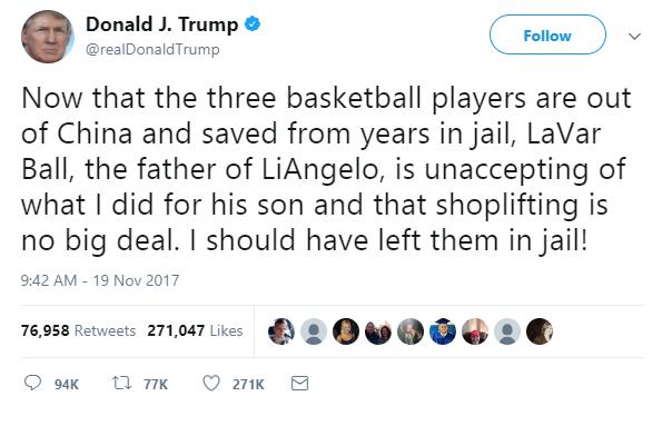 TRUMP V BALL 1